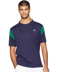 Fila - Heritage Tennis Color Blocked Crew - Lyst