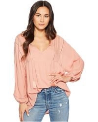Amuse Society - Cool Breeze Woven Top - Lyst