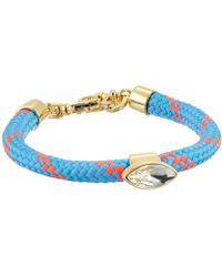Rebecca Minkoff - Climbing Rope Bracelet With Stone - Lyst