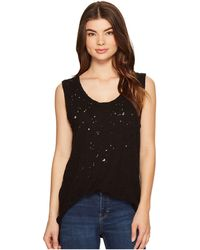Michael Stars - Ripped Textured Jersey Muscle Tank Top - Lyst