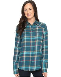 Stetson - Brushed Twill Ombre Plaid Shirt - Lyst