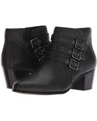 8f644f66da99 Clarks - Maypearl Rayna (black Tumbled Leather) Shoes - Lyst