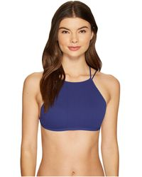 Free People - High Neck Strappy Back Bra - Lyst