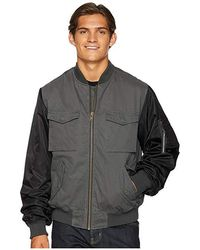 4285e6344 The Contrast Bomber Jacket (pirate Black) Coat
