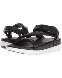 b95e5bc7b123df Lyst - Fitflop Loosh Luxetm Z-strap Leather Sandals - Save 14%