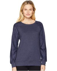 U.S. POLO ASSN. - Long Sleeve French Terry Crew Neck Pullover - Lyst