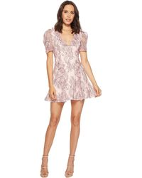 983f6f653ba7 Lyst - Showpo Hold On Tight Dress In Blush Floral in Pink