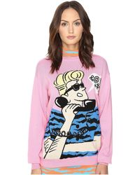 Jeremy Scott - Retro Cartoon Sweater - Lyst