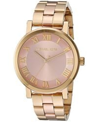 a375fb65d61f Lyst - Michael Kors Mk3586 - Norie in Metallic