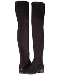 Steve Madden - Jestik Over The Knee Boot (black) Pull-on Boots - Lyst