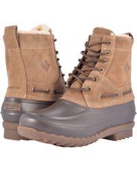 Sperry Top-Sider - Decoy Boot Shearling Waterproof - Lyst
