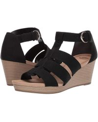 faf5a12a51d Banana Republic Factory Espadrille Wedge Sandal in Black - Lyst