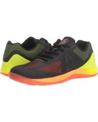 134c360c4ce Lyst - Reebok Crossfit Nano Pump Fusion Training Sneaker in Black