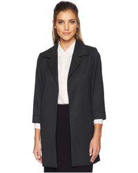 Calvin Klein - Woven Open Front Jacket - Lyst