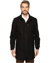 Perry Ellis | Wool Zip Front City Coat | Lyst