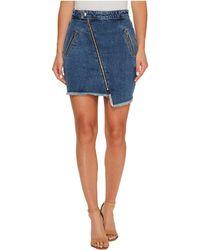 Joe's Jeans - Asymmetrical Zipper Skinny In Karla - Lyst