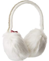 127f5191f1c Betsey Johnson - Jeweled After Party Earmuffs - Lyst