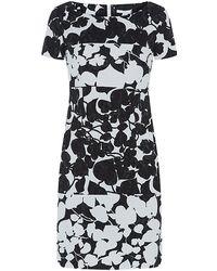 Boss Black Devida Floral Jacquard Dress - Lyst