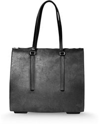Rick Owens Medium Leather Bag - Lyst