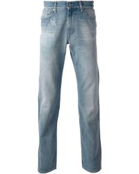 7 For All Mankind Stone Washed Jeans - Lyst