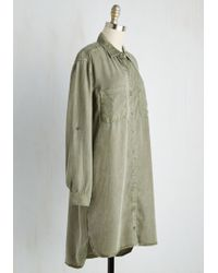 Sneak Peek - First Friday Fab Tunic In Olive - Lyst