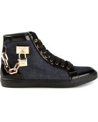 DSquared2 Denim Hi-top Sneakers - Lyst