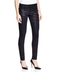 Joe's Jeans | Coated Skinny Jeans In Black | Lyst