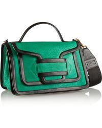 Pierre Hardy Color-block Nubuck Shoulder Bag - Lyst