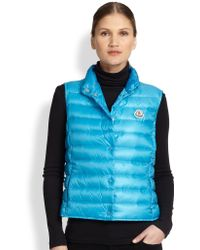 Moncler Liane Quilted Vest - Lyst