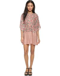 The Great The Julep Dress - Floral Print - Lyst