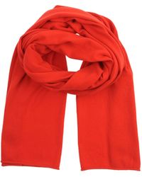 Michael Kors Red Stole - Lyst