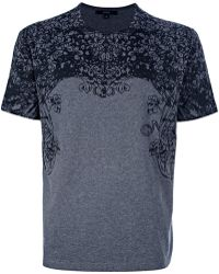 Gucci Gray Tshirt with Print - Lyst