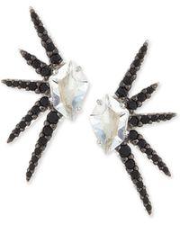 Alexis Bittar Fine - Marquis Clear Quartz Pave Starburst Earrings - Lyst