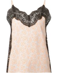 Christopher Kane Lace Camisole Top - Lyst