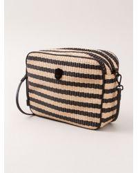 Osklen - Striped Raffia Shoulder Bag - Lyst