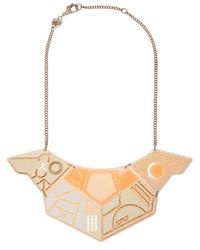 Tatty Devine - Spaceship Statement Necklace - Lyst