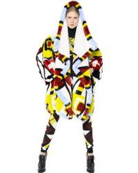 KTZ - Patchwork Faux Fur Coat - Lyst
