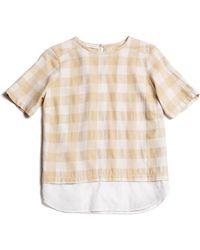 Cynjin Shirttail Top - Lyst