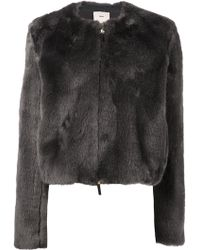 Edun Faux Fur Jacket - Lyst