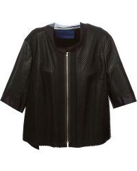 Sharon Wauchob - Paneled Leather Jacket - Lyst