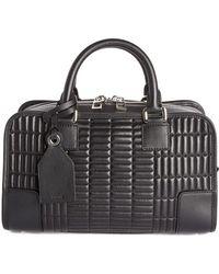 Loewe | 'mini Amazona 23' Quilted Leather Satchel | Lyst