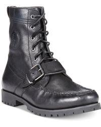 Polo Ralph Lauren Ranger Boots black - Lyst
