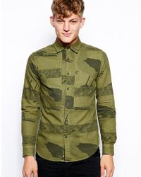 G-star Raw G Star Shirt Islander Albatross Repeat Print - Lyst