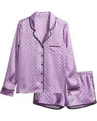 H&M Satin Pyjamas - Lyst