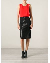 Roland Mouret Pencil Skirt - Lyst