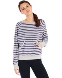 Hard Tail Basic Pullover blue - Lyst