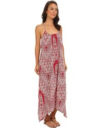 Roxy Free Swell Maxi Dress - Lyst