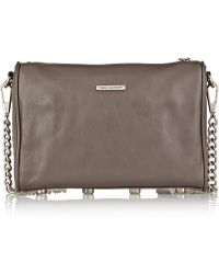 Rebecca Minkoff Mini 5-Zip Leather Shoulder Bag - Lyst