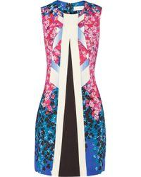 Peter Pilotto Aureta Printed Woven Dress - Lyst