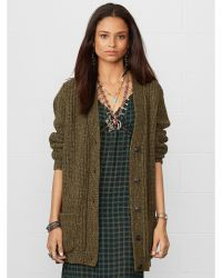 Denim & Supply Ralph Lauren Wool-blend V-neck Cardigan - Lyst